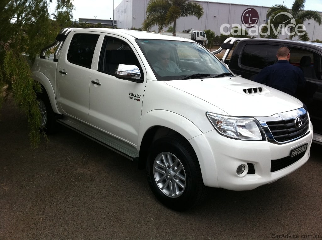 Toyota HiLux 4x4 Review   CarAdvice