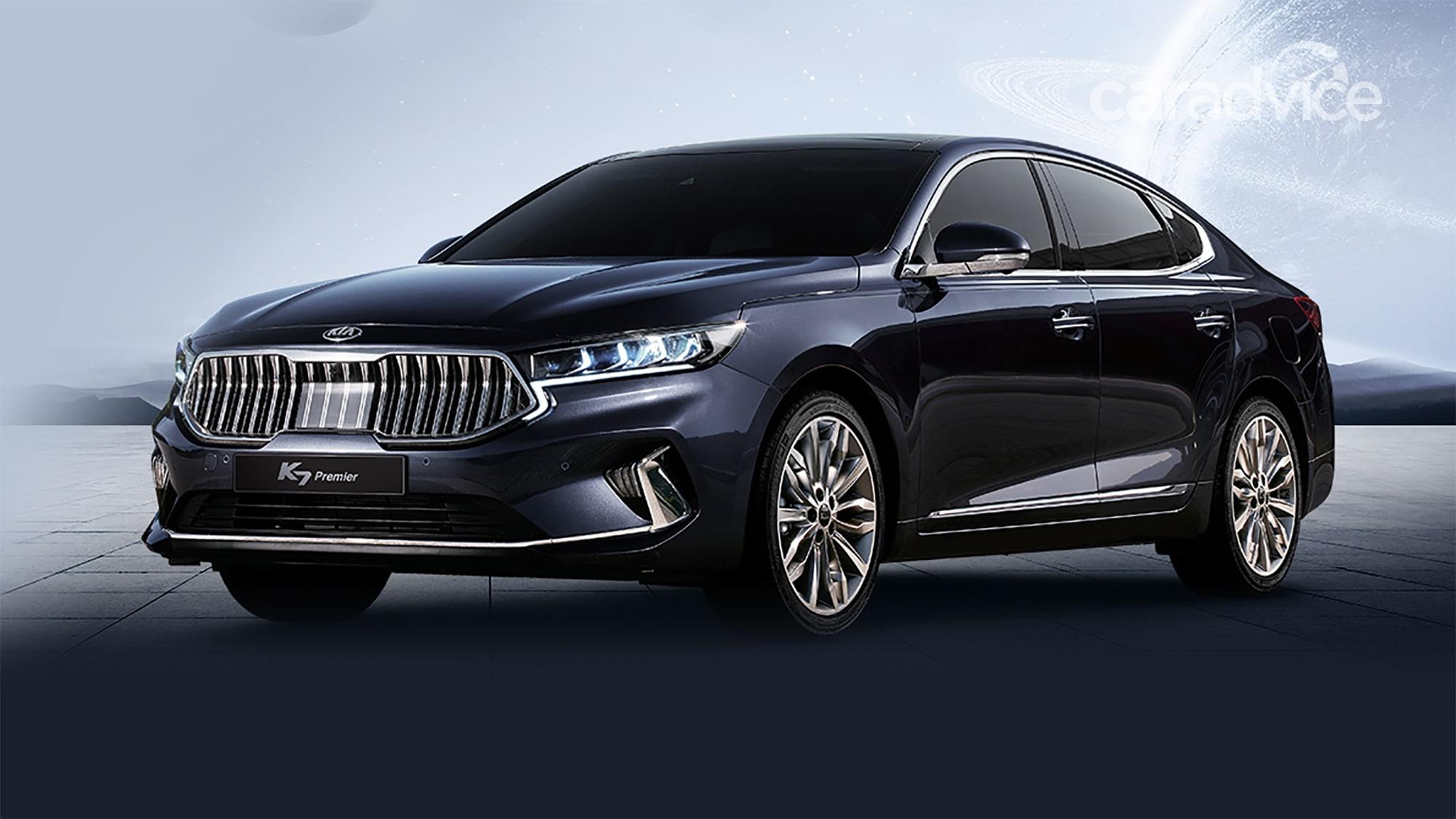 2020 Kia Cadenza/K7 revealed in Korea | CarAdvice