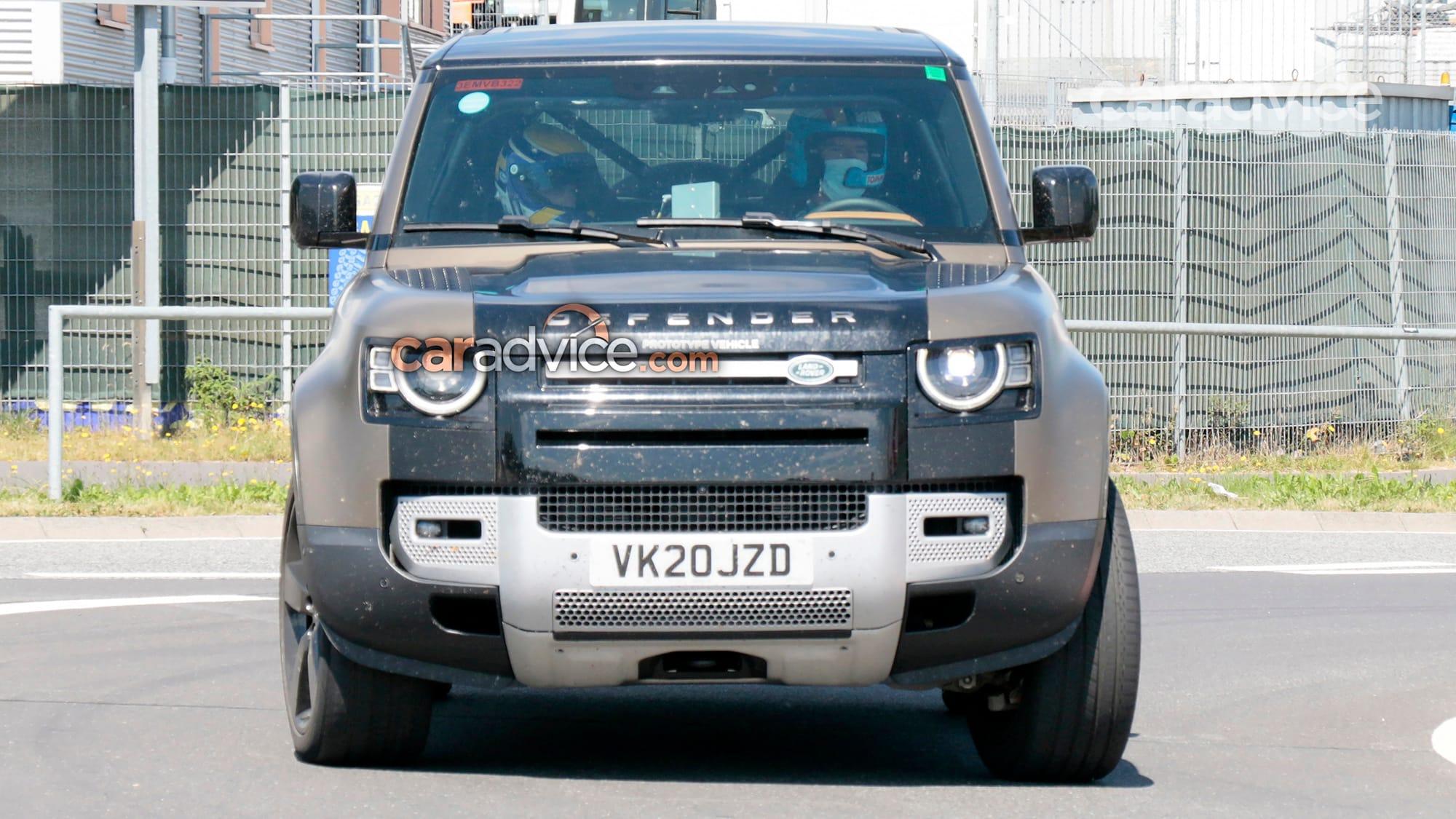 2021 Land Rover Defender V8 spy photos | CarAdvice