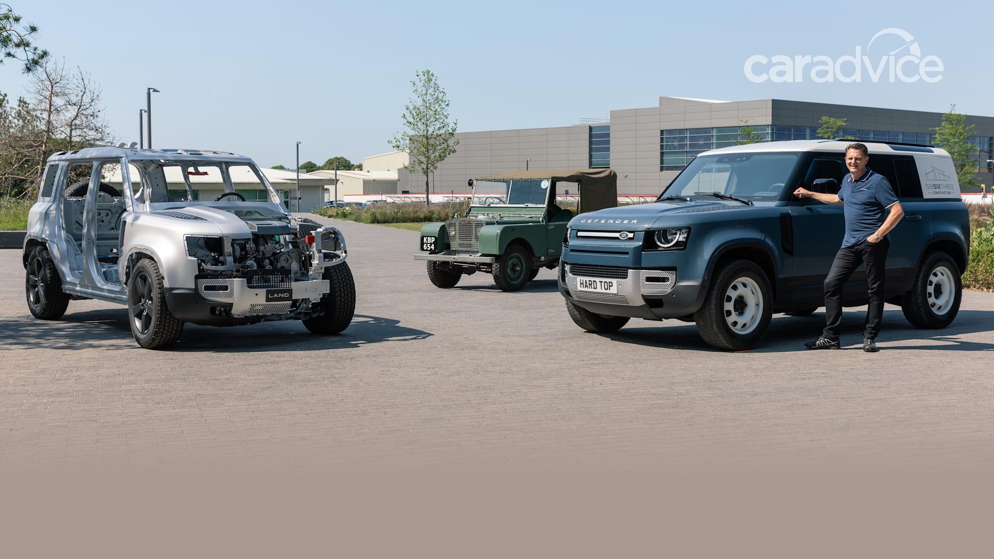 2021 Land Rover Defender Hard Top revealed   CarAdvice