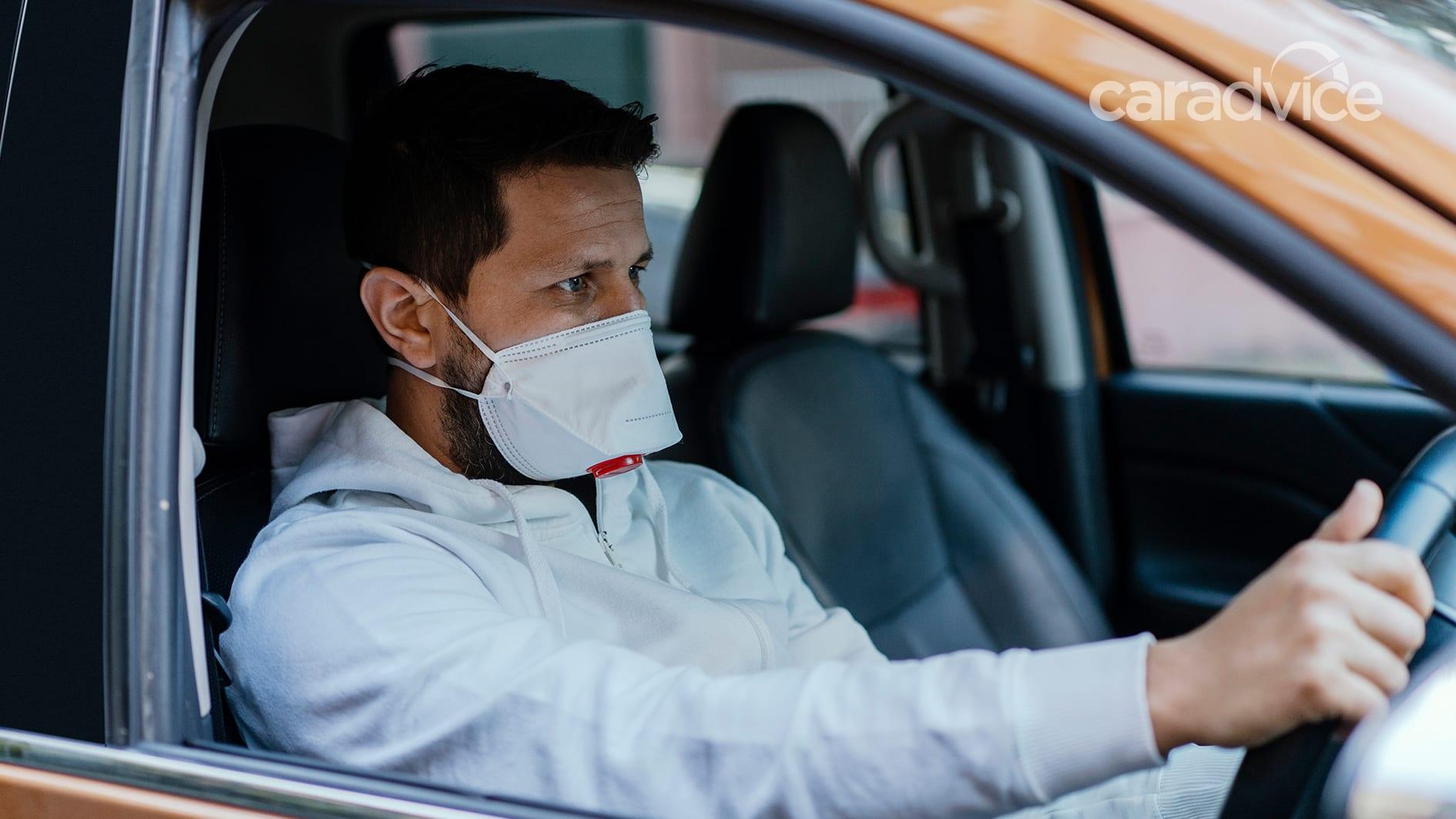 Вам действительно нужно носить маску в машине? Узнаем - 1 из 1