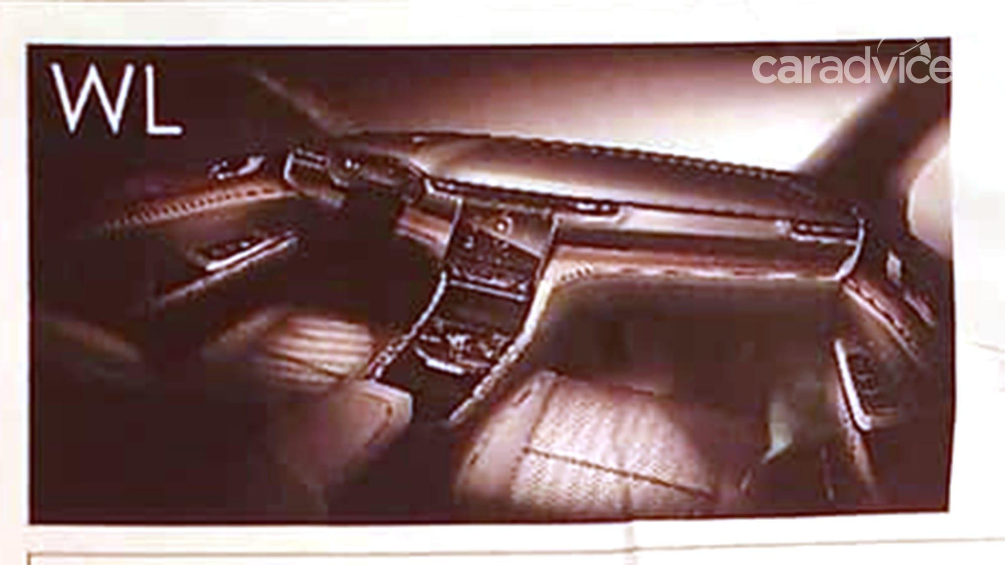 2021 Jeep Grand Cherokee interior design leaked | CarAdvice