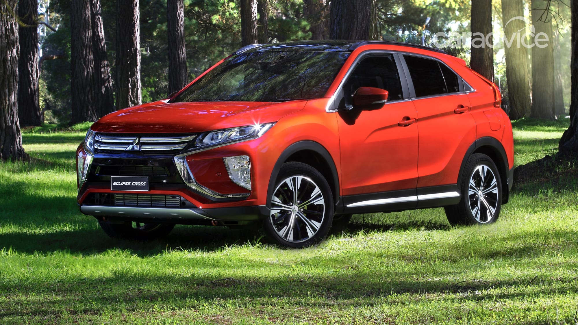 2021 mitsubishi eclipse cross facelift spied  caradvice