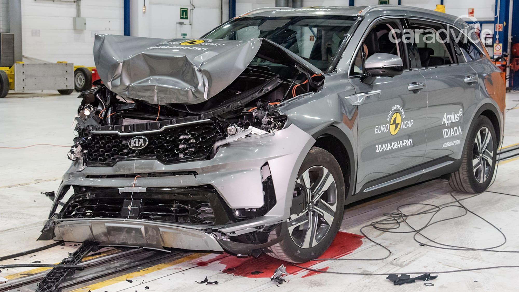 2021 Kia Sorento earns five-star ANCAP safety rating ...