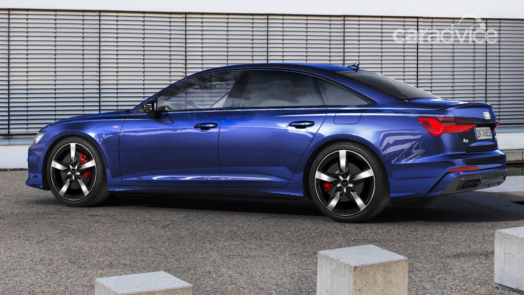 2020 Audi A6 55 TFSI e quattro plug-in hybrid sedan ...