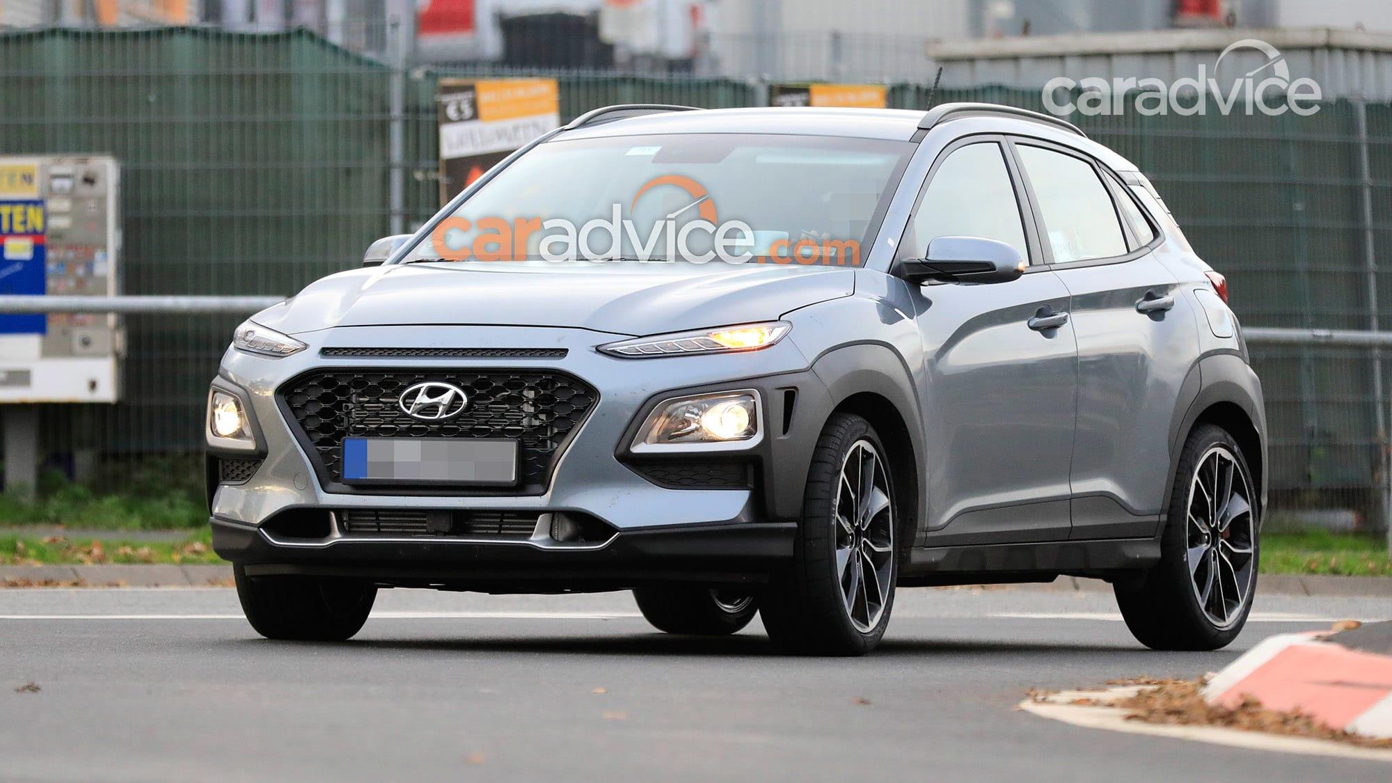 2021 Hyundai Kona N spied   CarAdvice