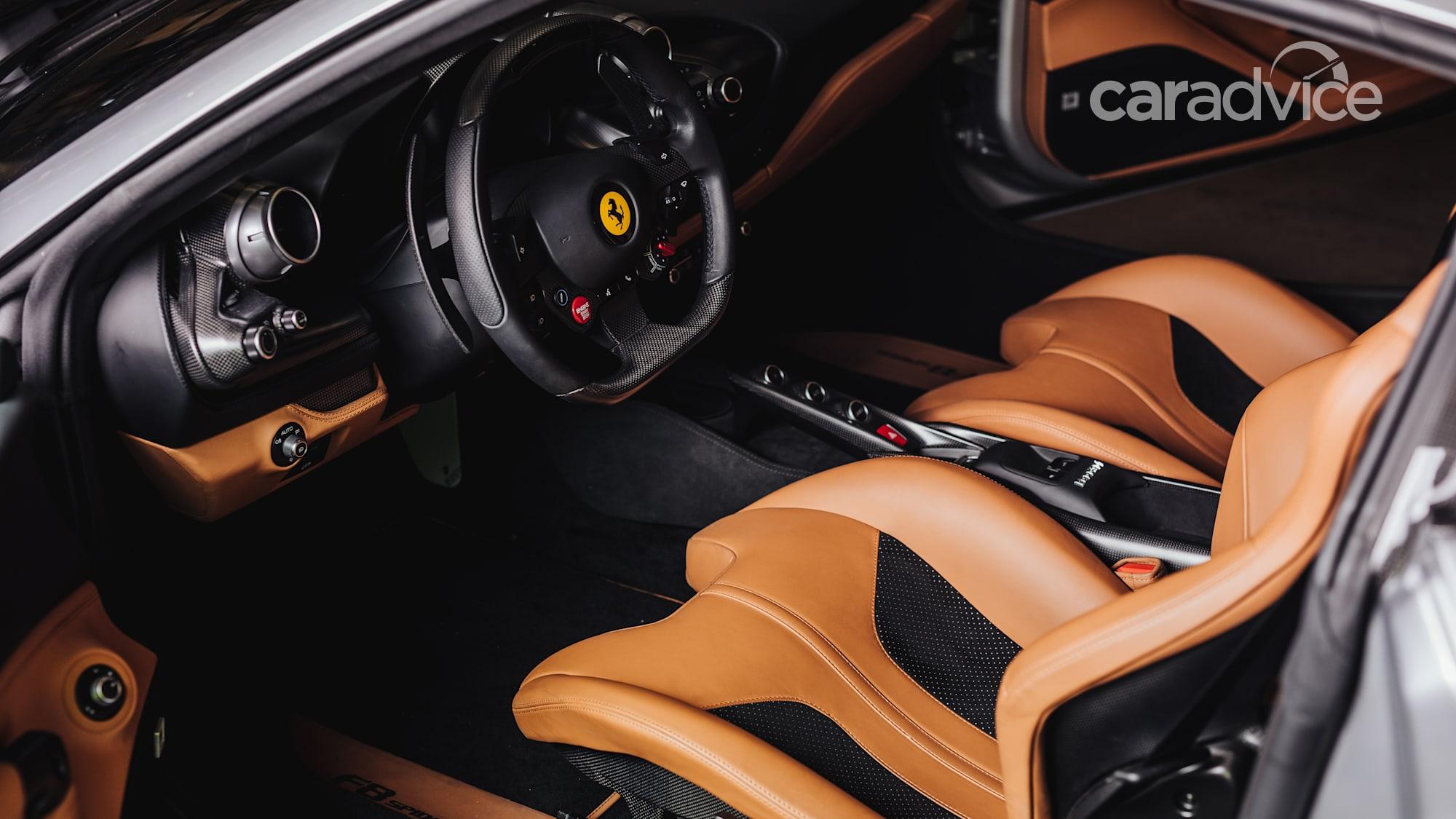 Ferrari F8 Spider surfs into Australia, priced from $536,888 | CarAdvice