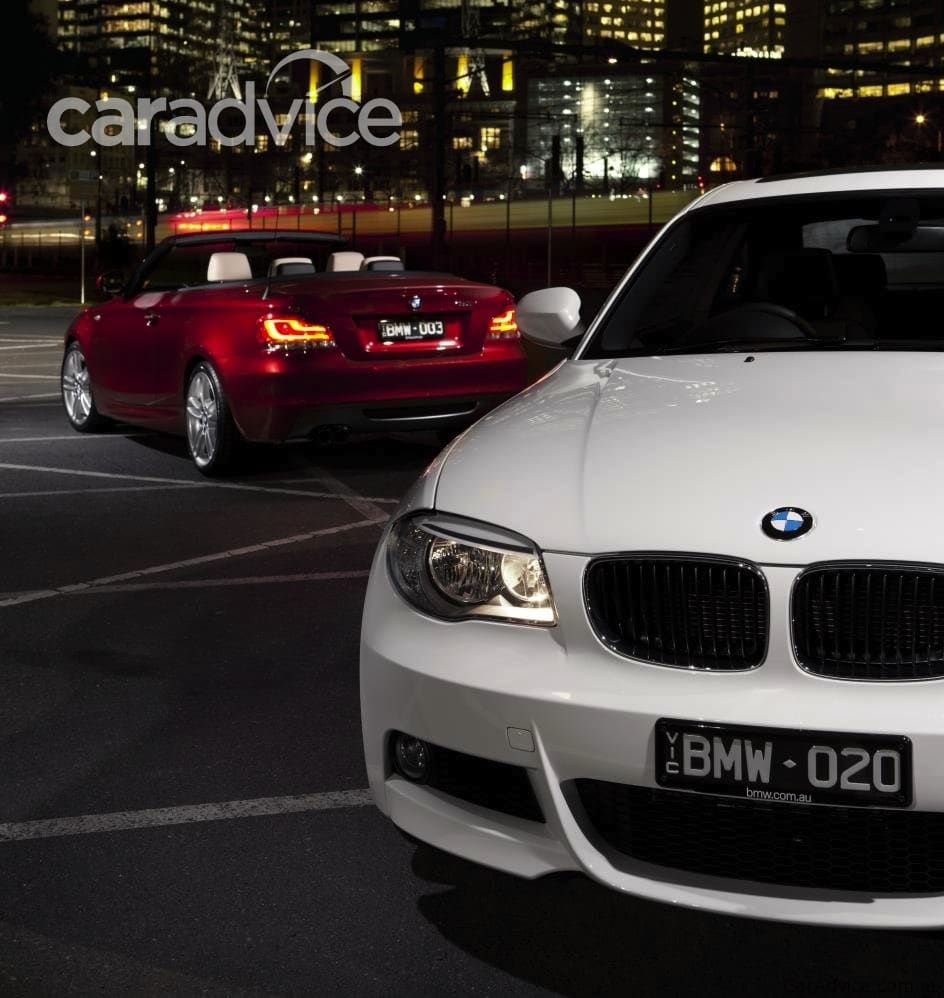 2012 BMW 1 Series Coupe, Convertible Mid-life Update For