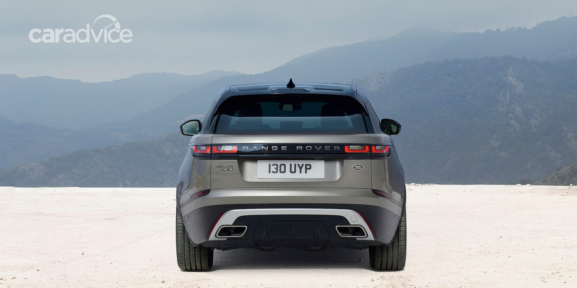 2018 range rover velar goes official  australian pricing revealed