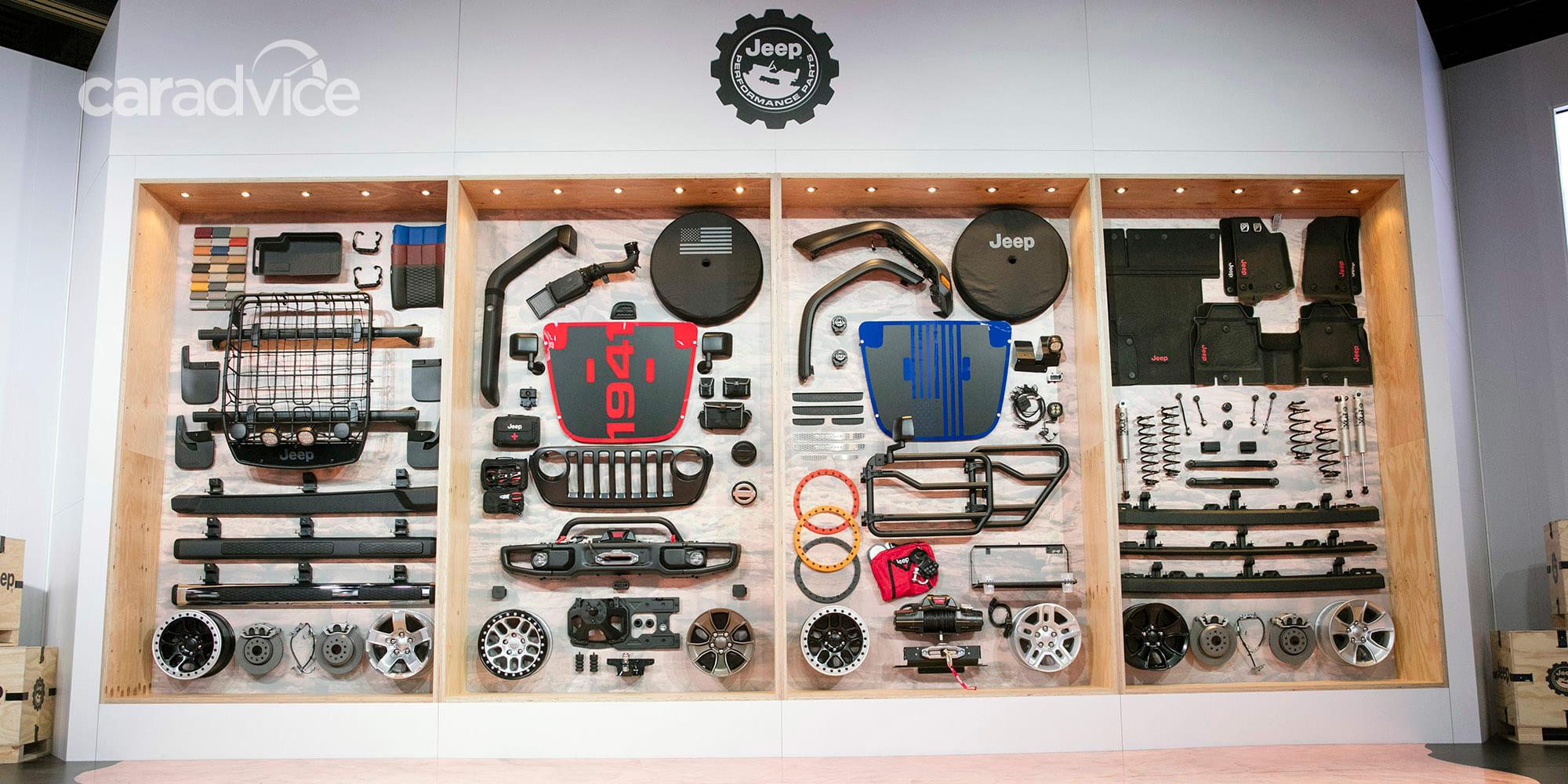 2018 jeep wrangler mopar parts teased at sema show