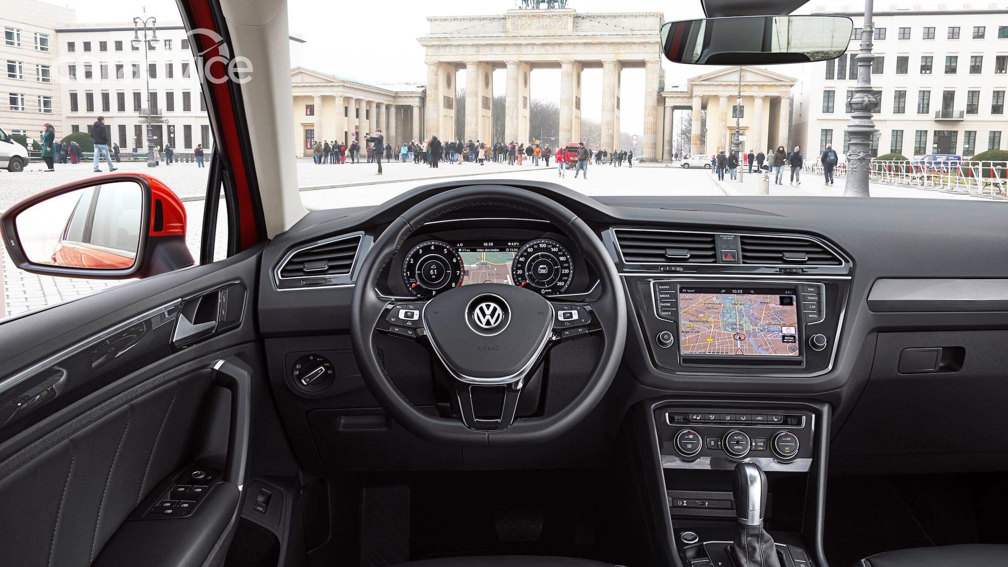 2017 Volkswagen Tiguan Australian Specifications Revealed