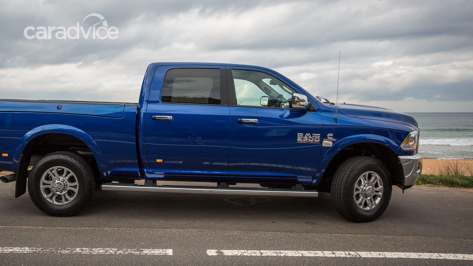 Towing with the 2017 Ram Laramie 2500   CarAdvice