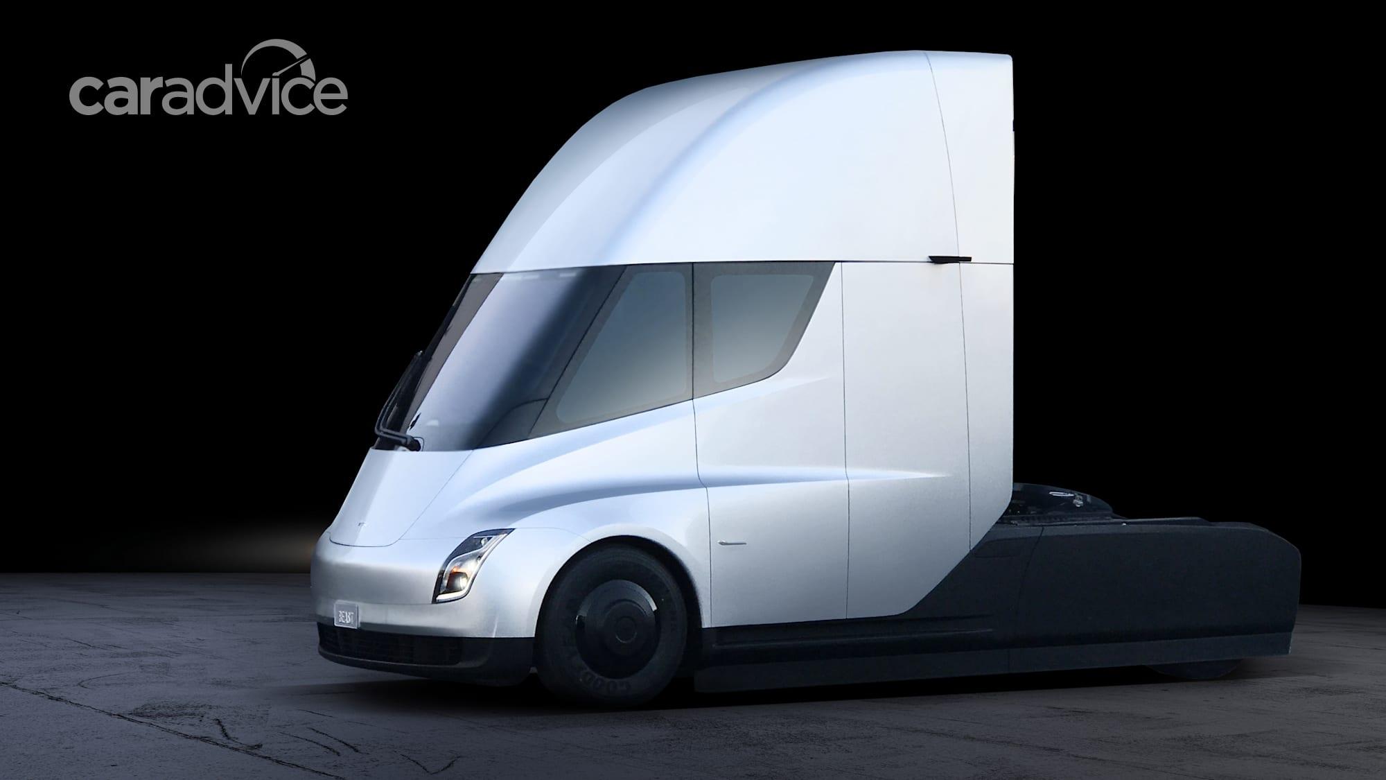 Tesla Semi truck revealed, production to begin in 2019 ...