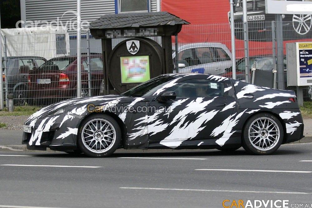 2009 Honda NSX spy photos | CarAdvice