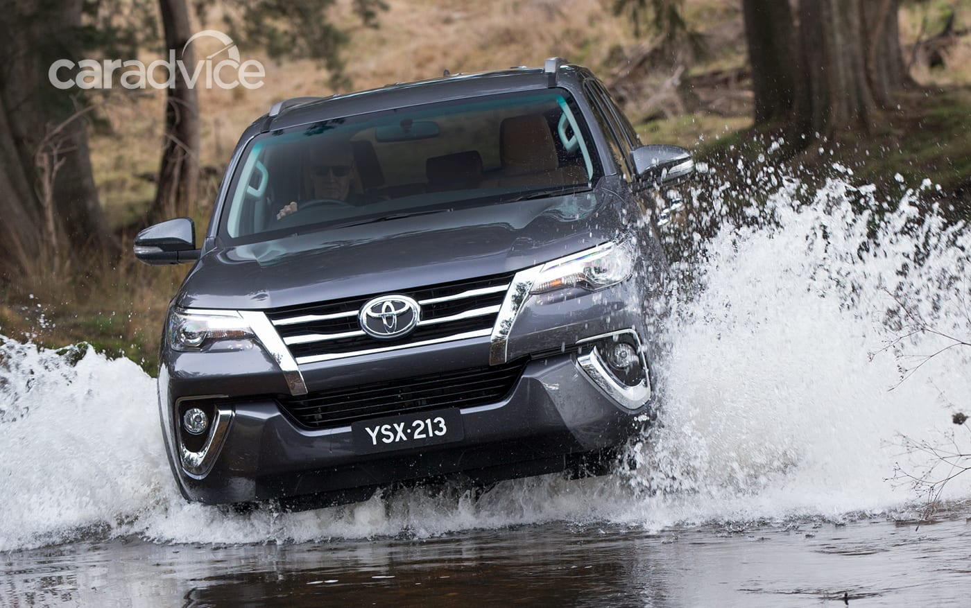 2016 Toyota Fortuner Revealed In Sydney Ahead Of