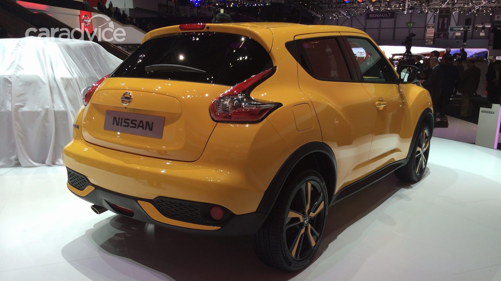 nissan juke  facelifted suv gets 12litre turbo bigger