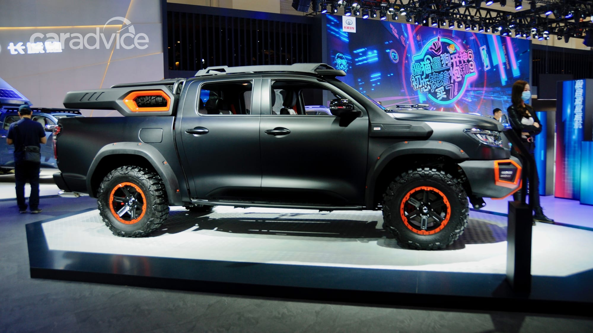 black bullet: gwm cannon ute to take on ranger raptor