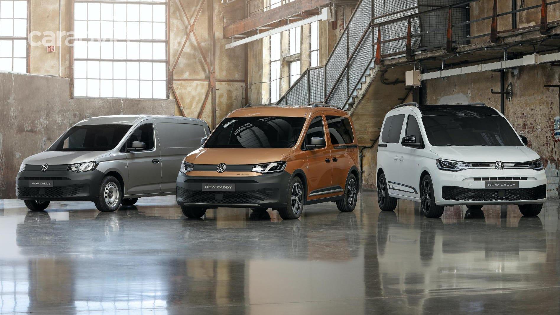 2021 Volkswagen Caddy: Initial Australian details   CarAdvice