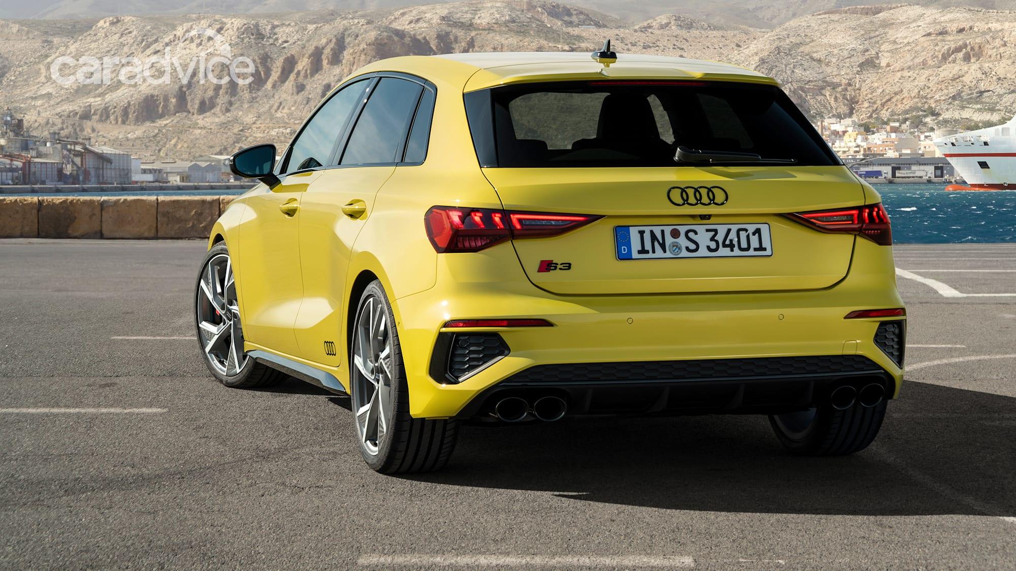 2021 Audi S3 Sportback and sedan revealed, Australia ...