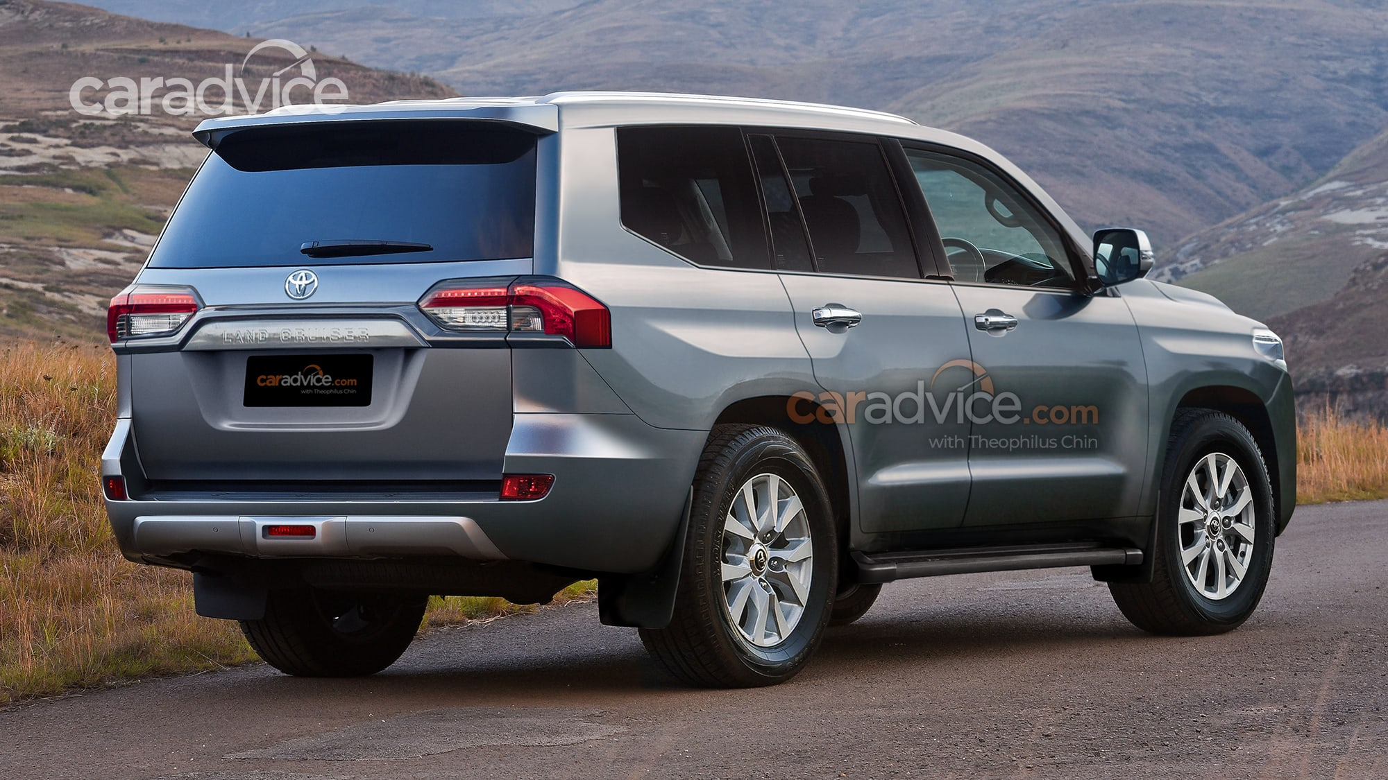 2022 toyota landcruiser 300 series spied for the first