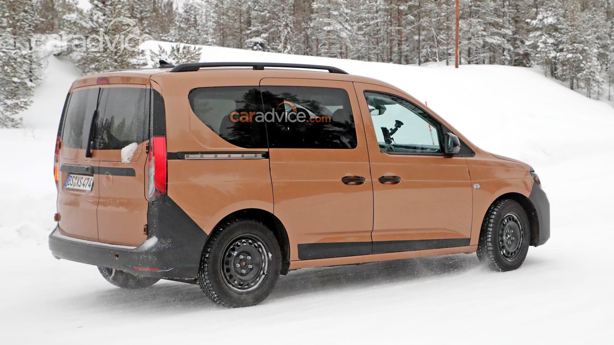 2021 Volkswagen Caddy spied   CarAdvice
