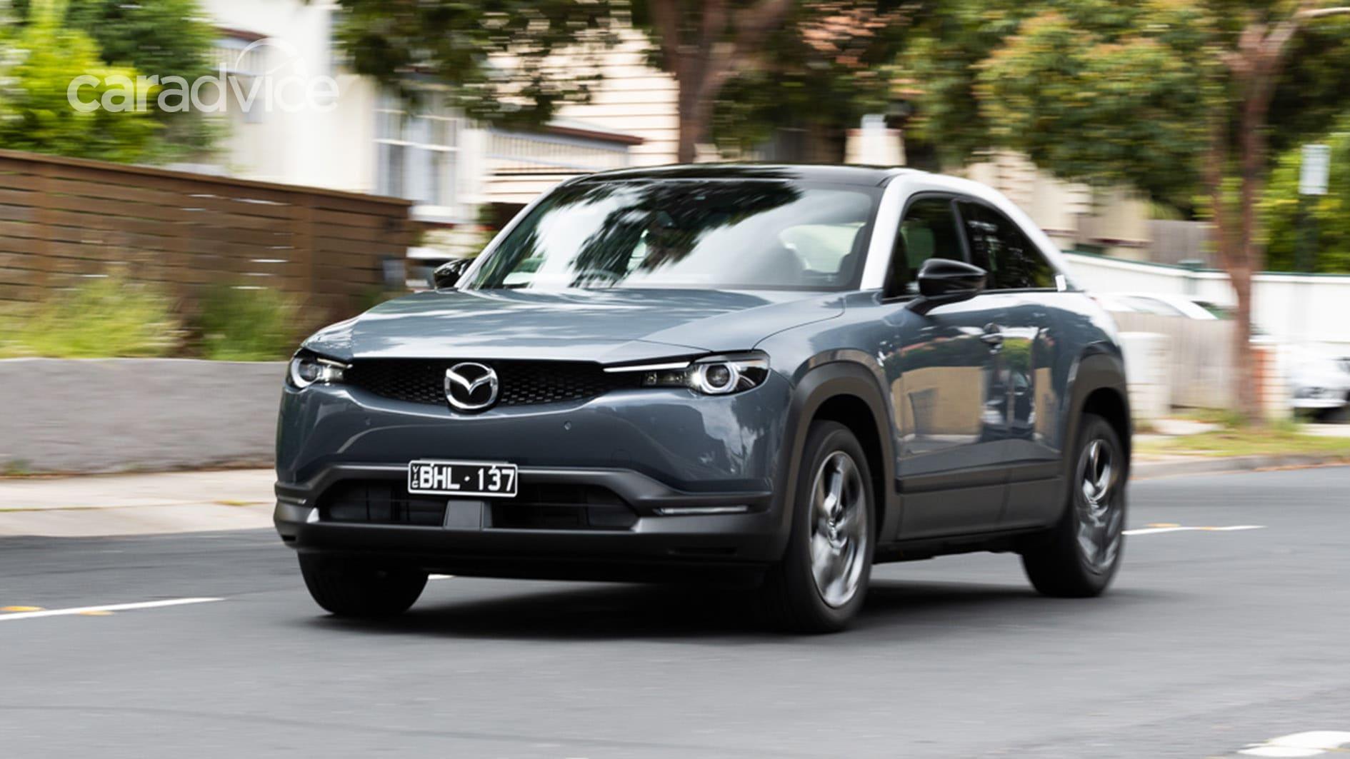 2021 mazda mx-30 coming to australia: electric and mild