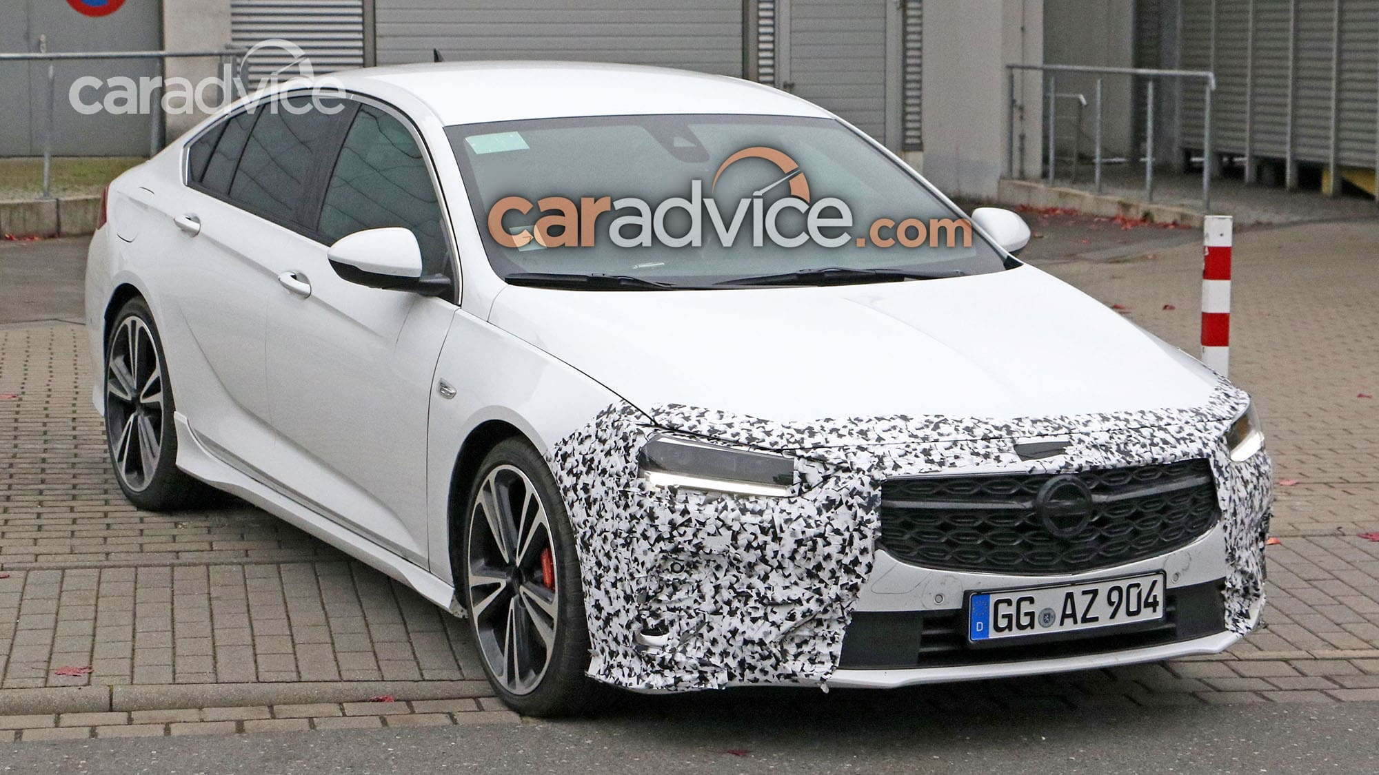 2020 holden commodore spied with less camouflage  caradvice