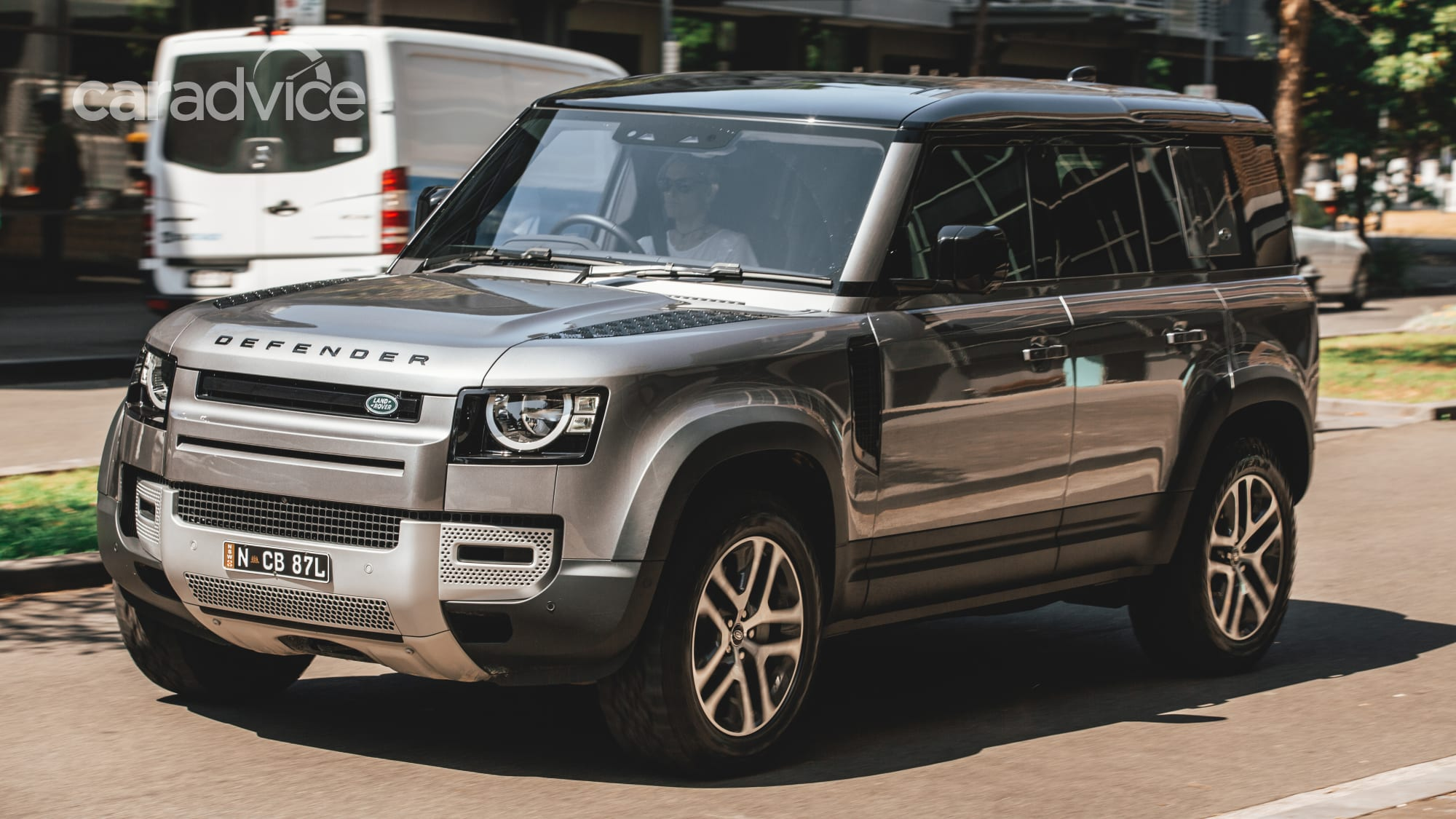 2021 Land Rover Defender 110 P400 S on-road review   CarAdvice
