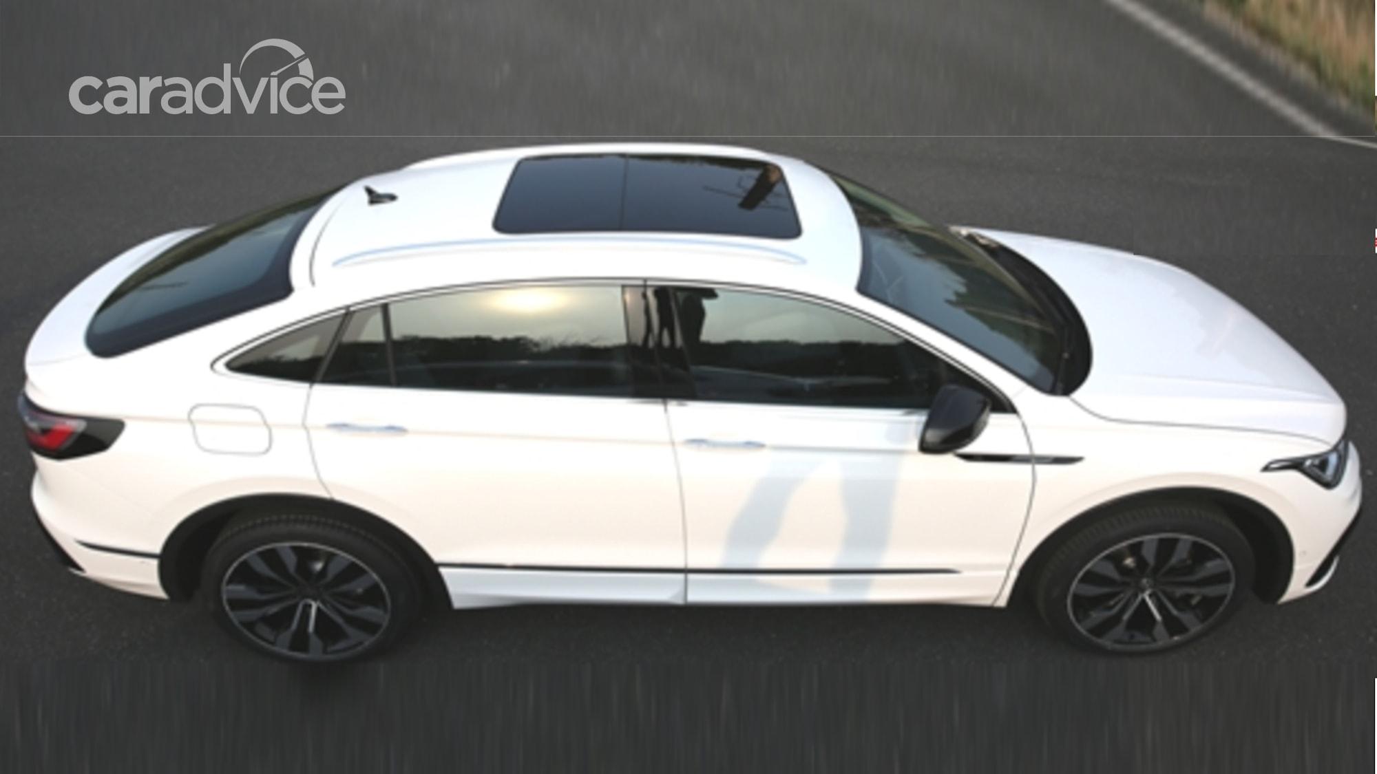 2021 Volkswagen Tiguan X coupe SUV revealed in pre-release ...