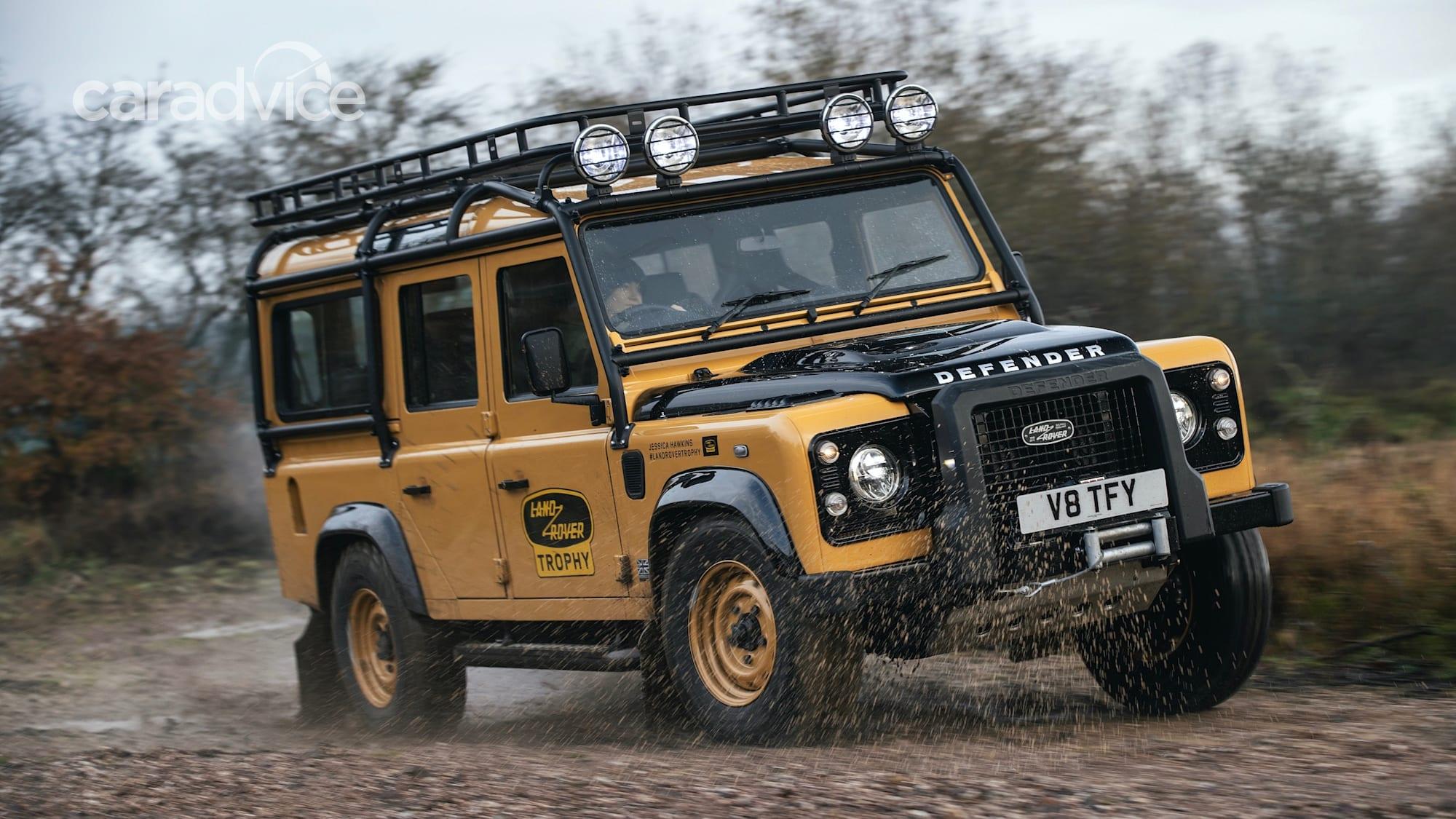 2021 Land Rover Defender Works V8 Trophy unveiled: Classic ...
