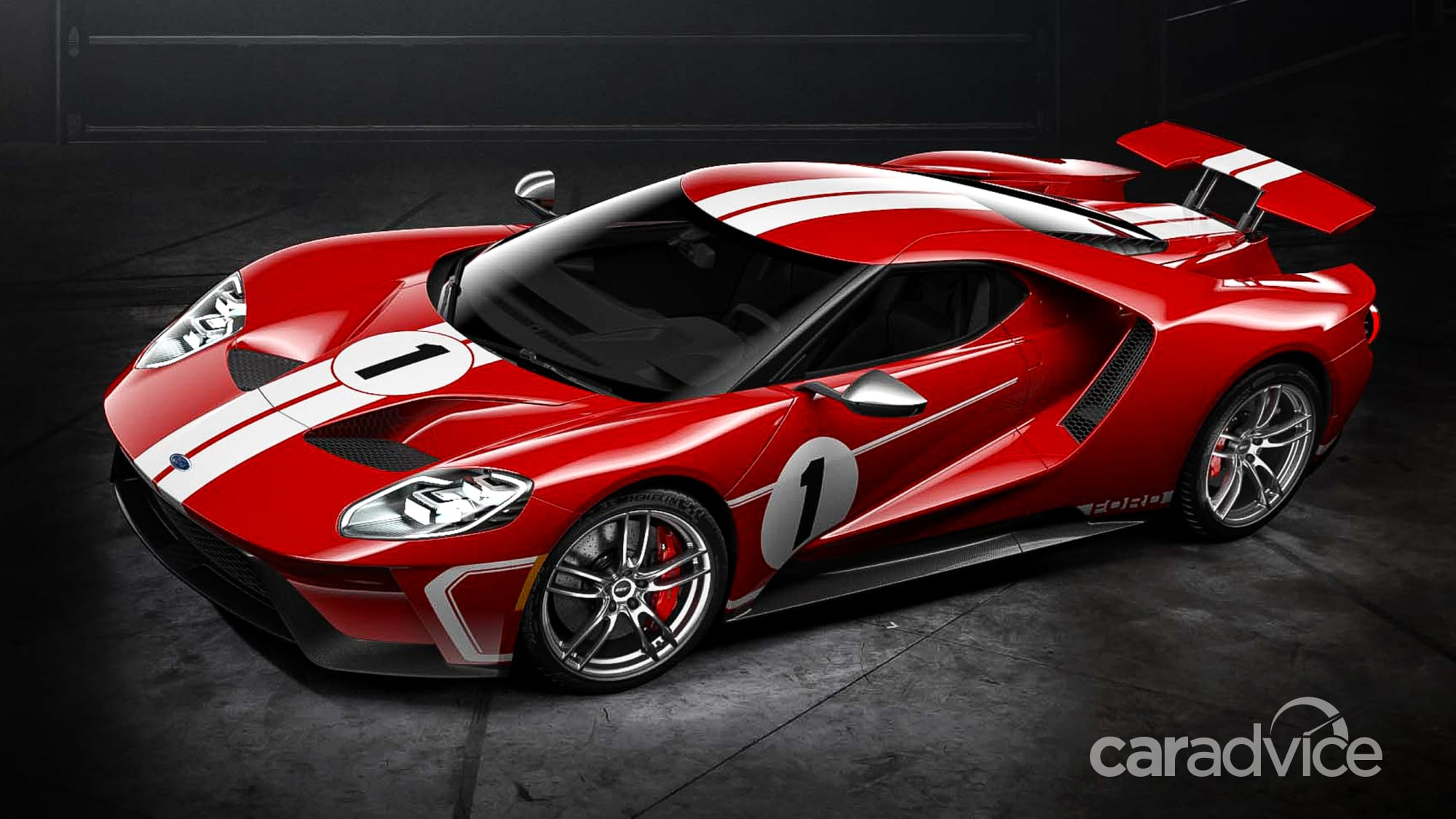 2018 ford gt '67 heritage edition celebrates second gt40