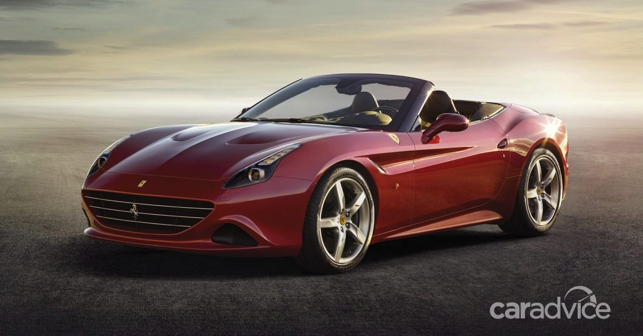 Ferrari California T : 755Nm roadster becomes first turbo ...