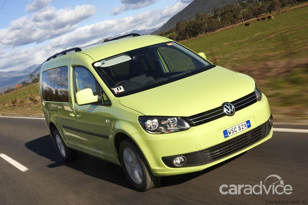 Volkswagen Caddy 4MOTION Review | CarAdvice