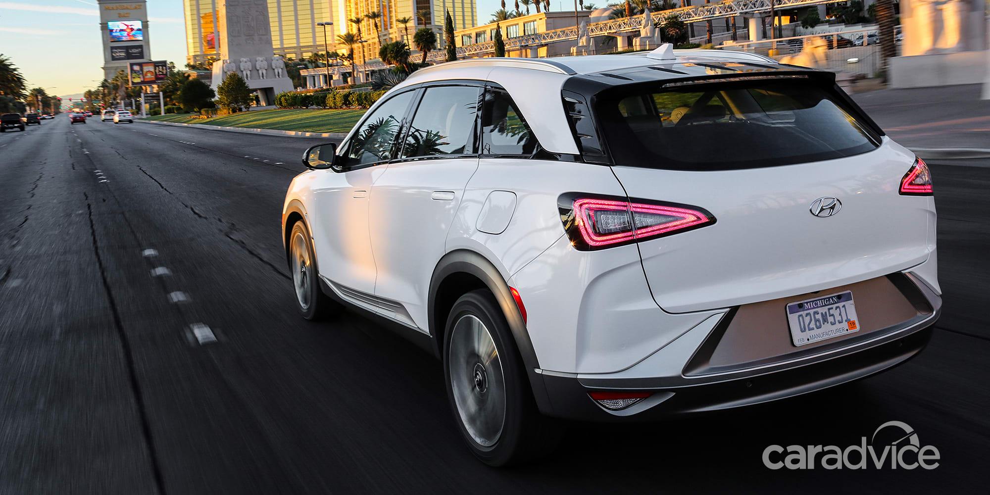 Hyundai Nexo fuel-cell SUV revealed - UPDATE | CarAdvice