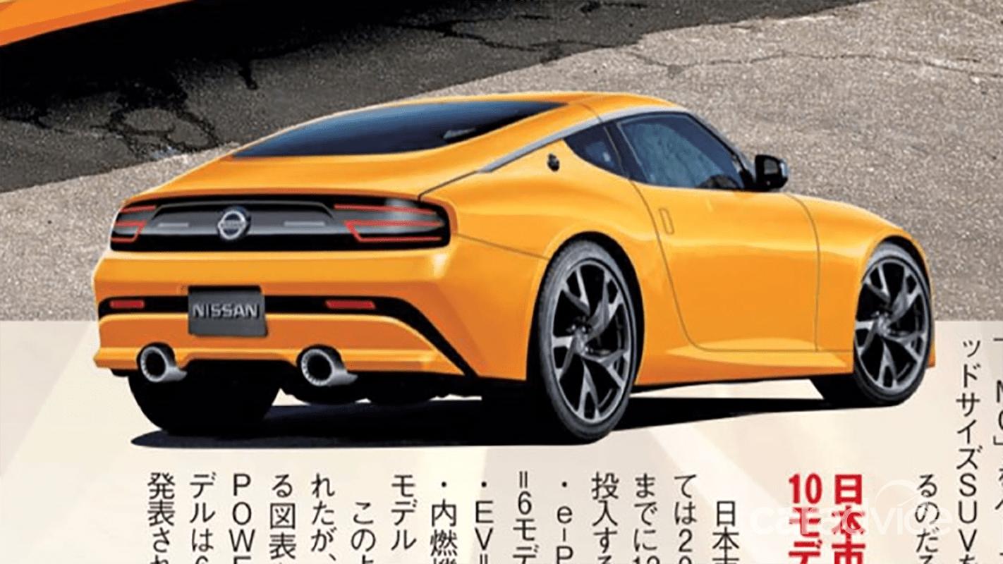 2021 Nissan 400Z here next year, electric/hybrid version ...