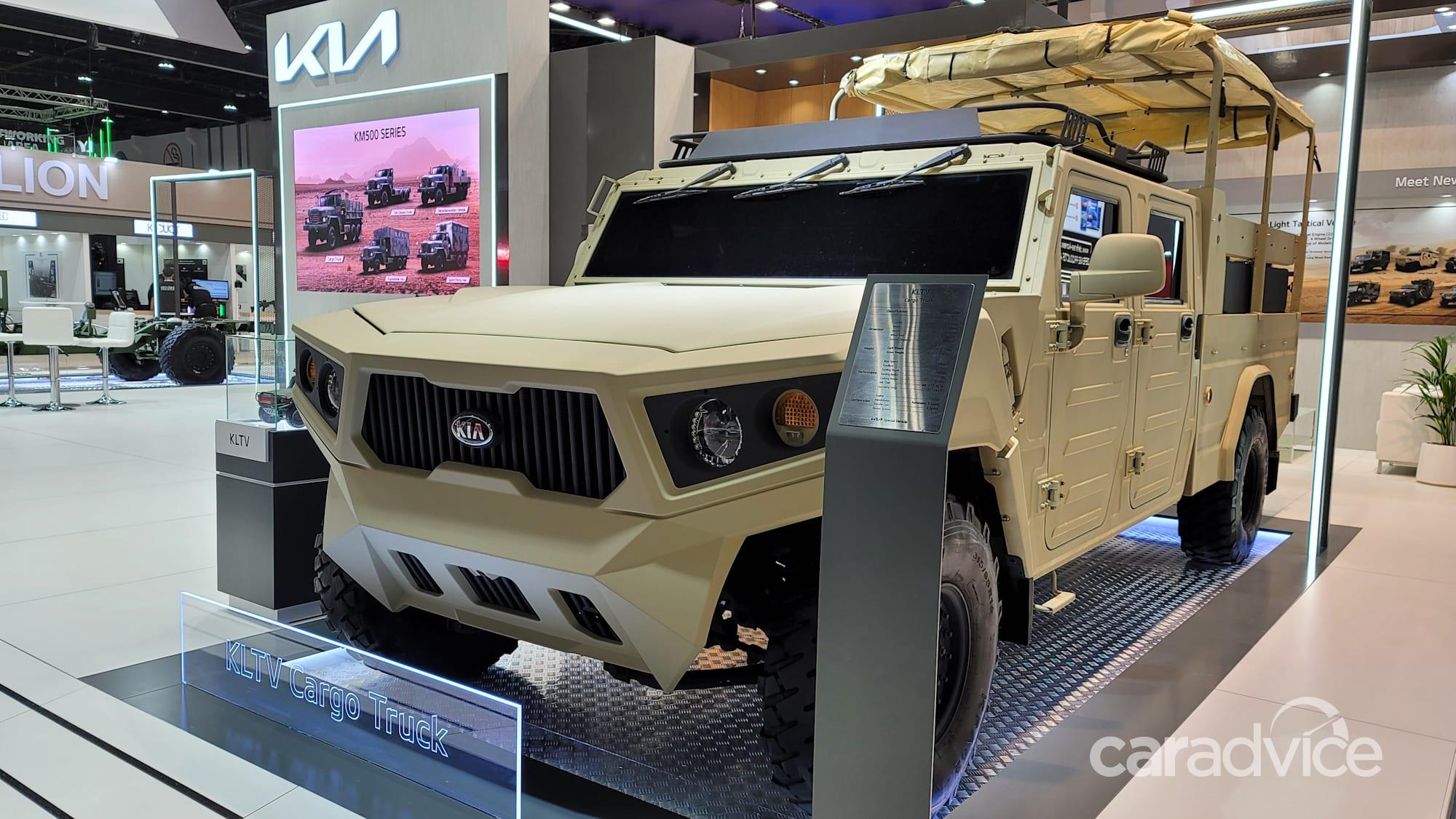 Конкурент Kia Hummer: представлен военный концепт легкого тактического грузовика - 2 из 2