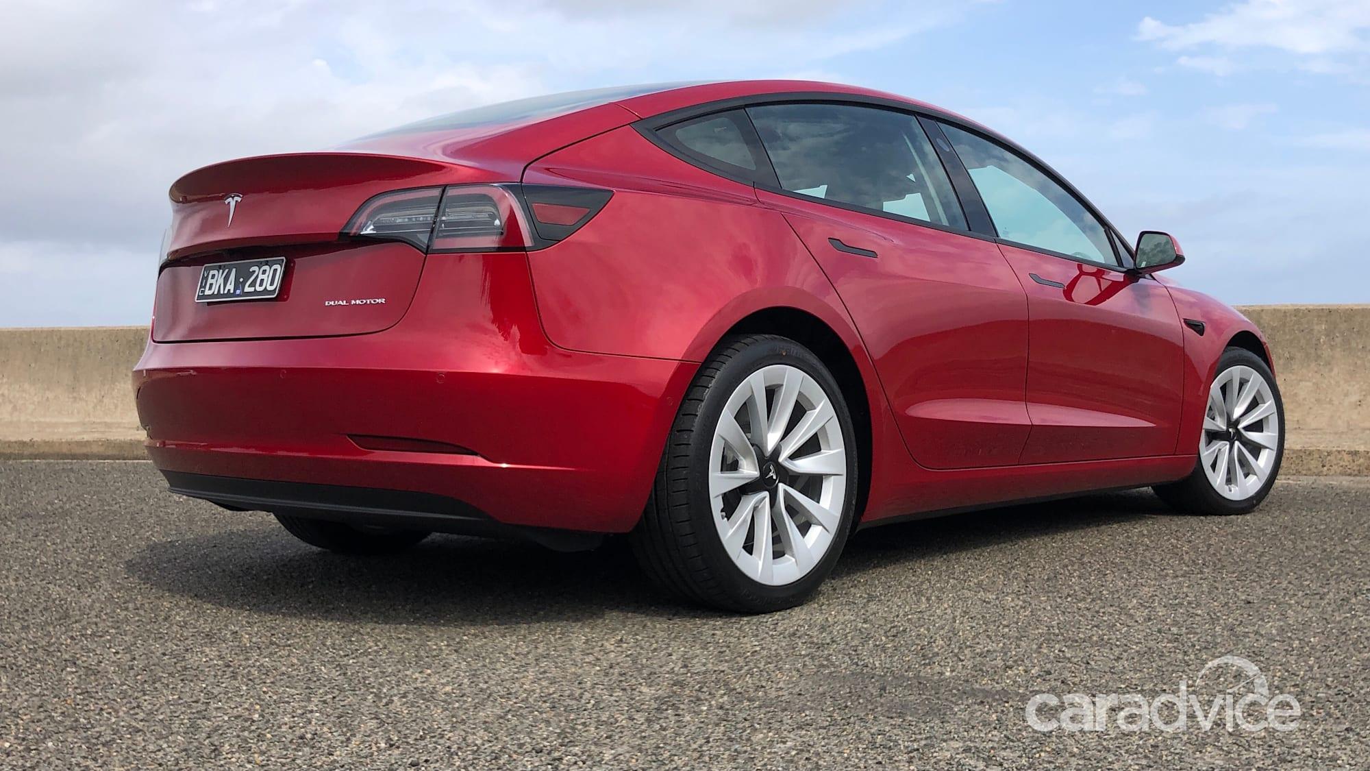 2021 Tesla Model 3 lands in Australia with longer range ...