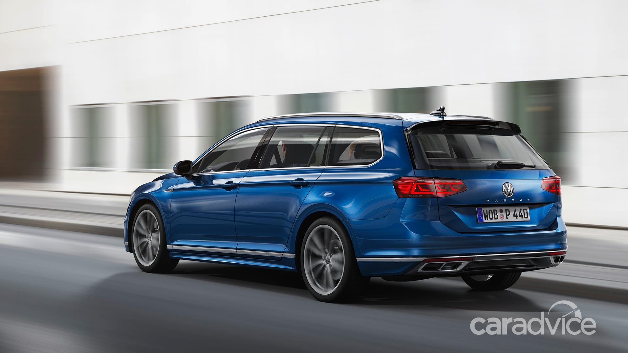 2020 volkswagen passat facelift revealed here before year