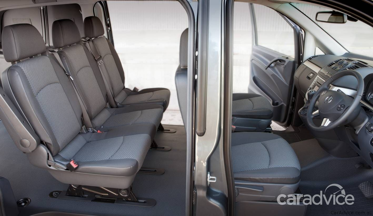 2011 Mercedes-Benz Vito range launched in Australia ...