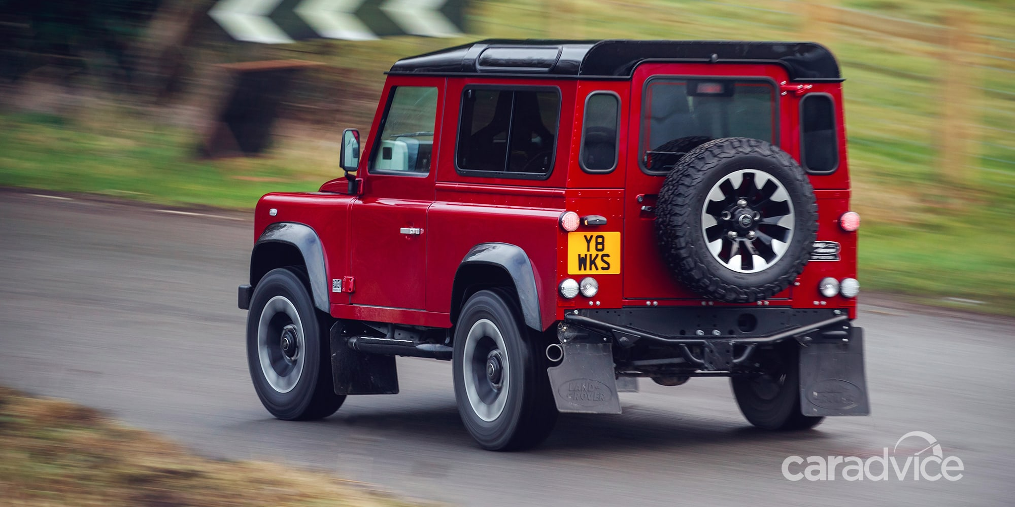 Land Rover Defender Works V8 revealed   CarAdvice
