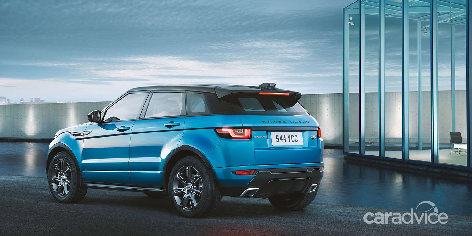 2017 range rover evoque landmark special edition revealed  available to order now