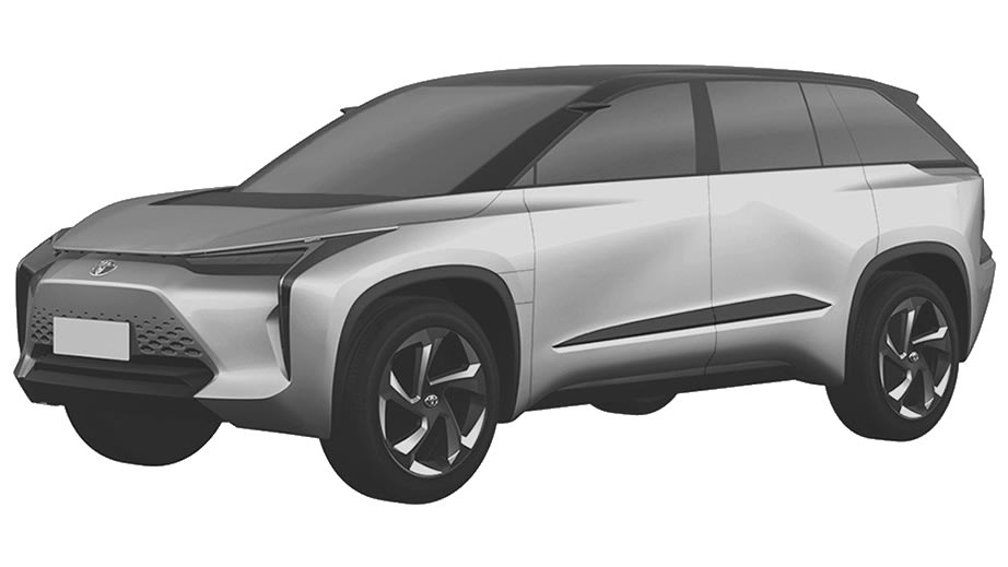 Toyota electric models revealed in patent filing | CarAdvice