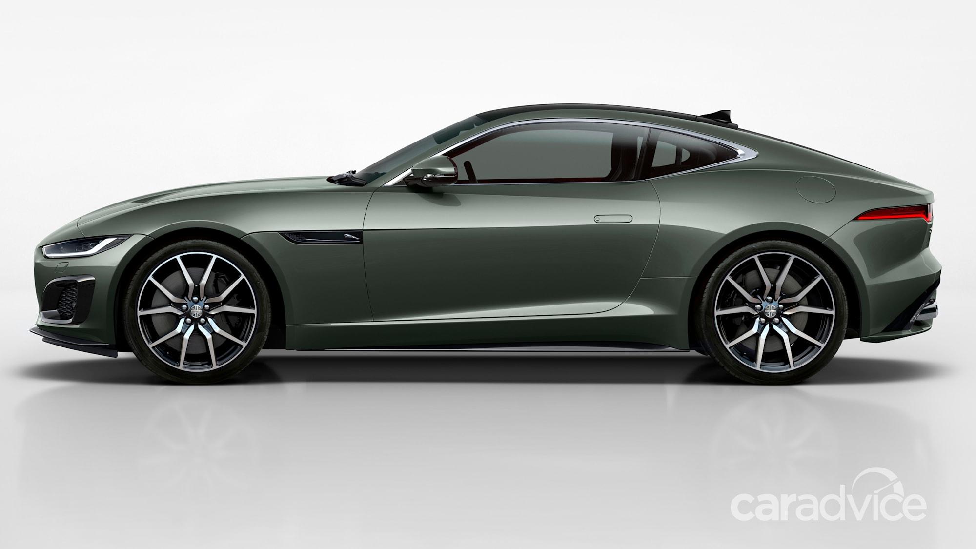 2021 Jaguar F-Type Heritage 60 Edition price and specs ...
