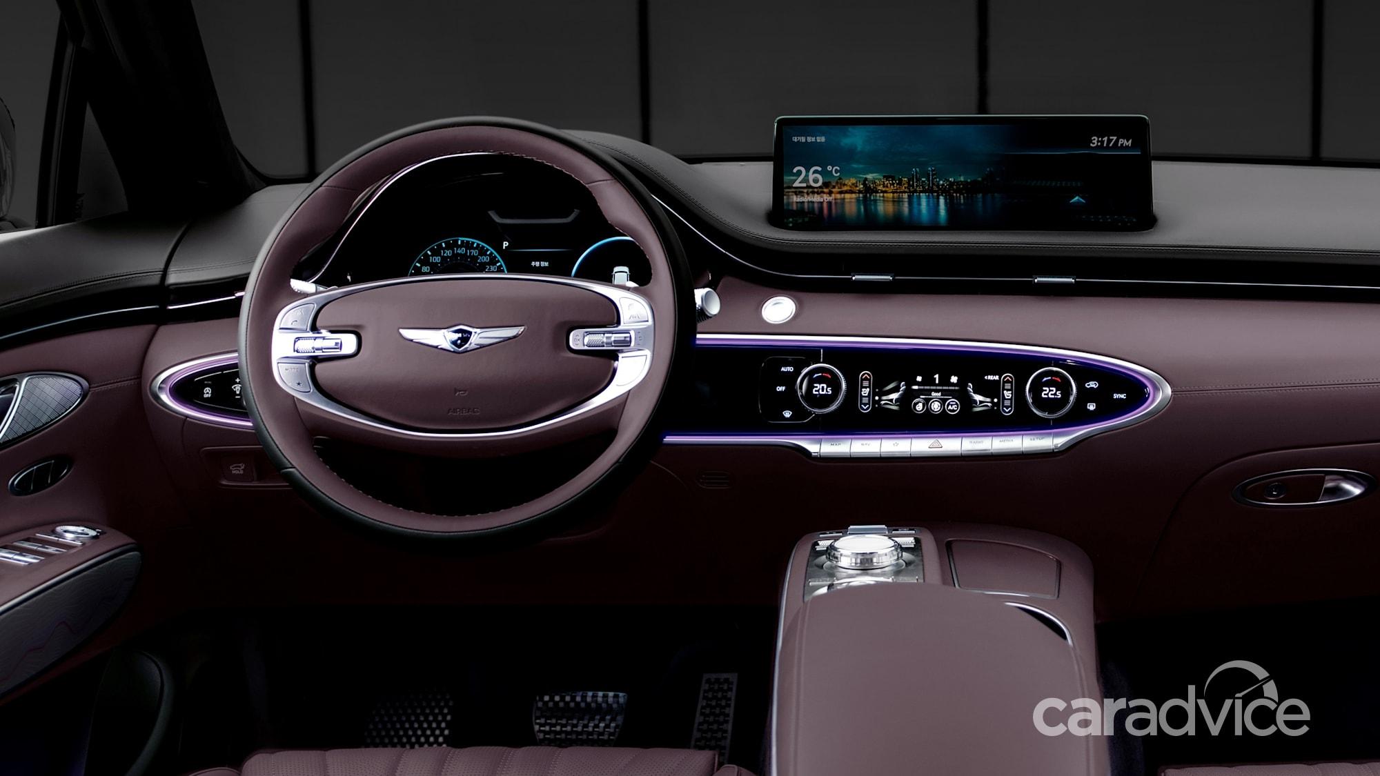 2021 Genesis GV70 revealed: Luxury medium-sized SUV bound ...