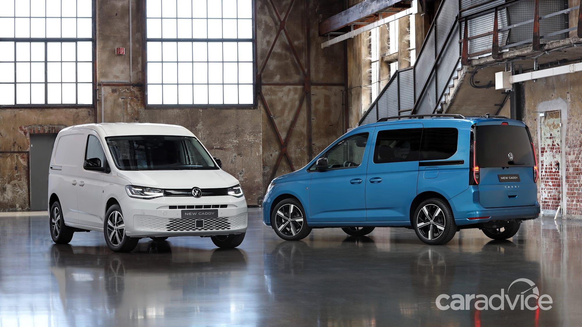 2021 Volkswagen Caddy: Initial Australian details | CarAdvice
