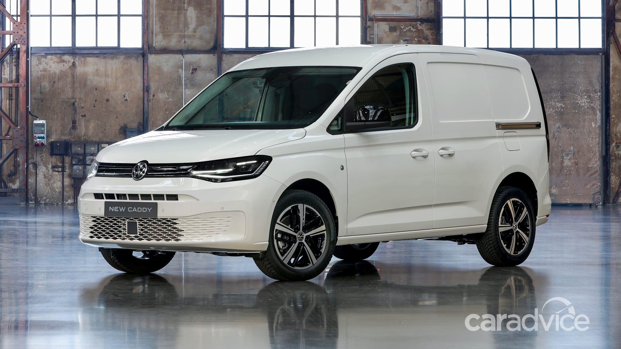 2021 volkswagen caddy and california due in australia next