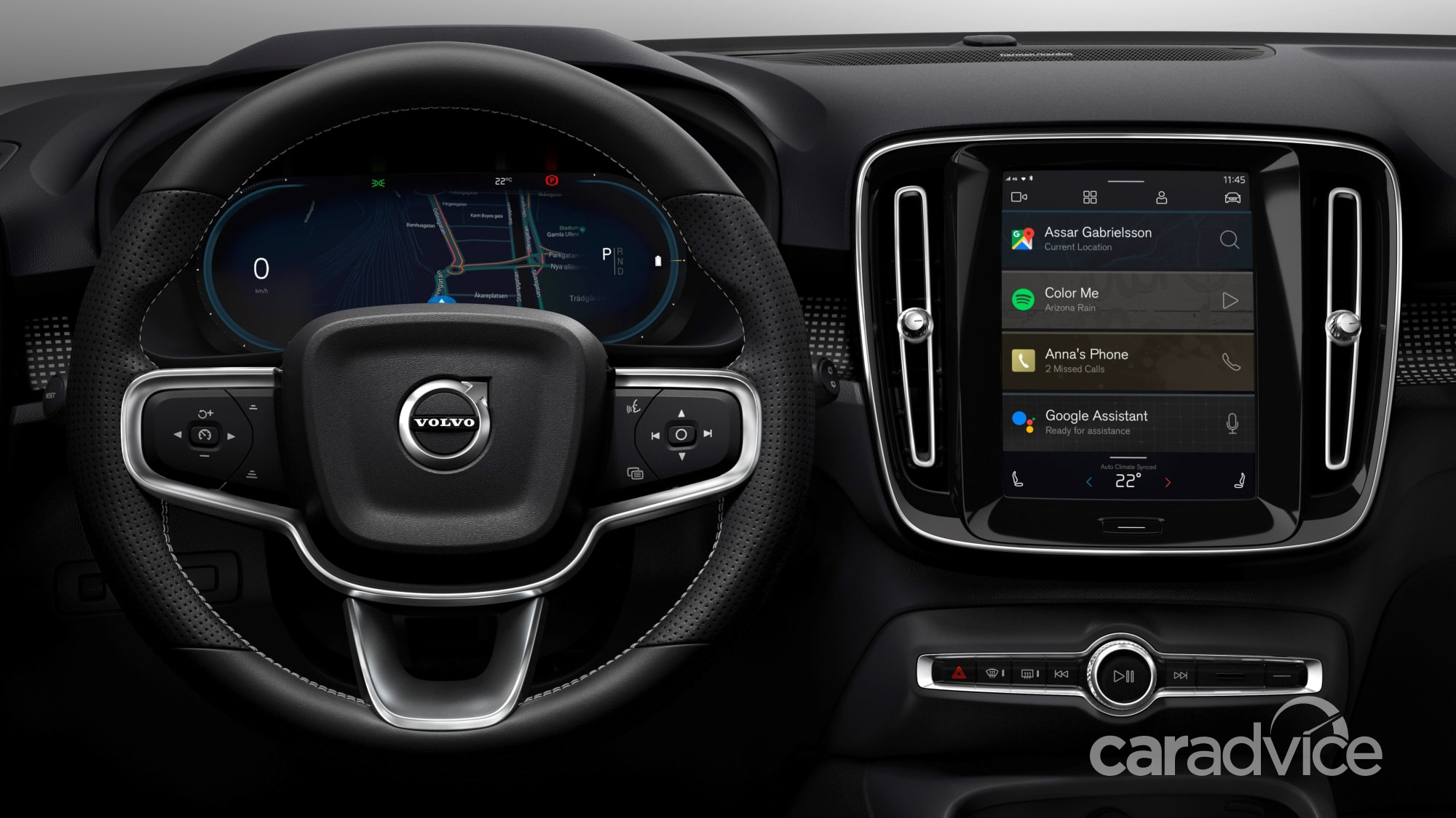 2020 Volvo XC40 Electric to debut Android-based ...