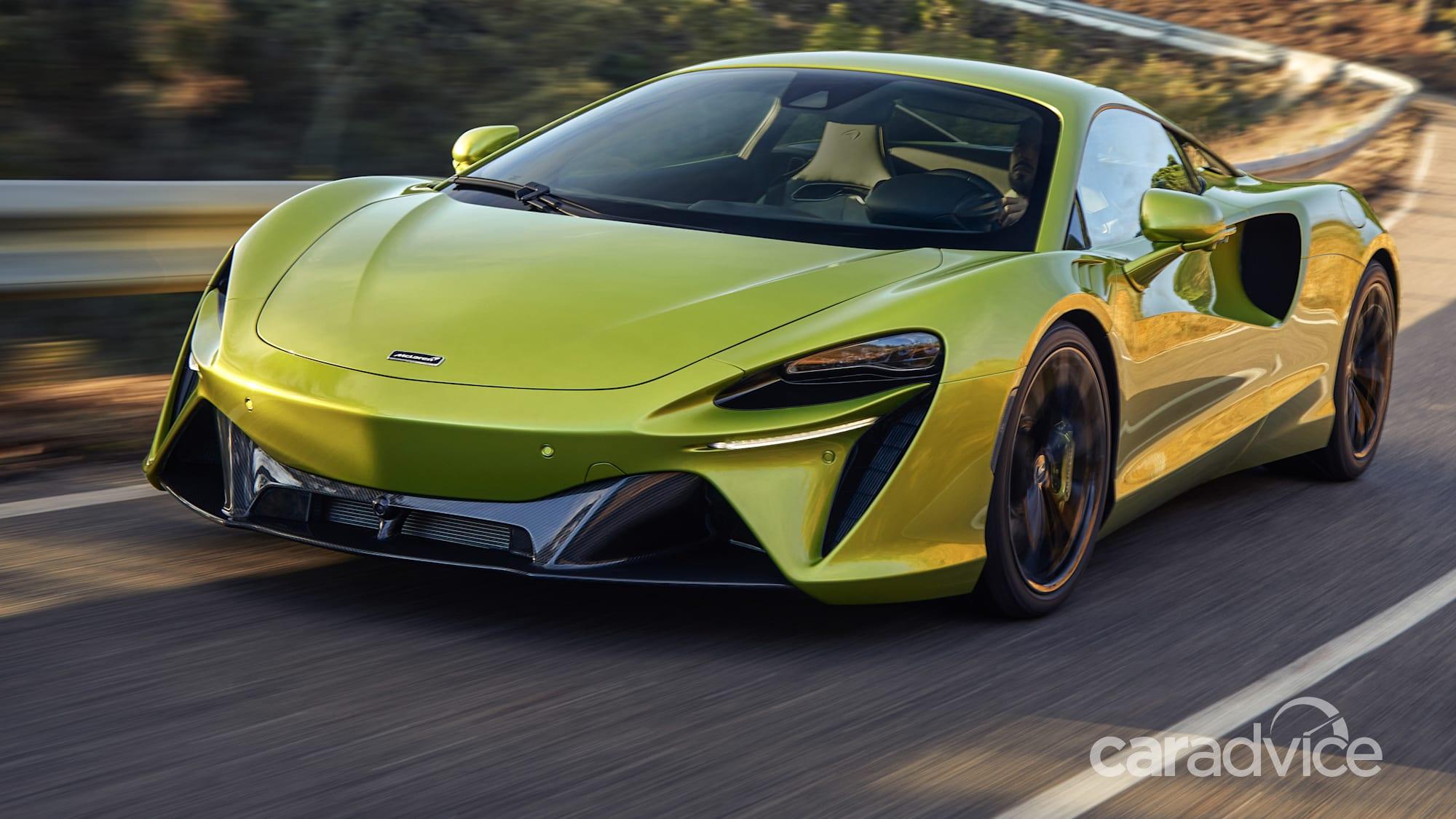 2021 mclaren artura unveiled: hybrid v6 joins supercar