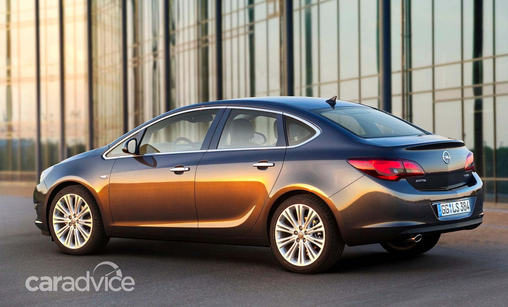 Opel Astra sedan: first look at small four-door   CarAdvice