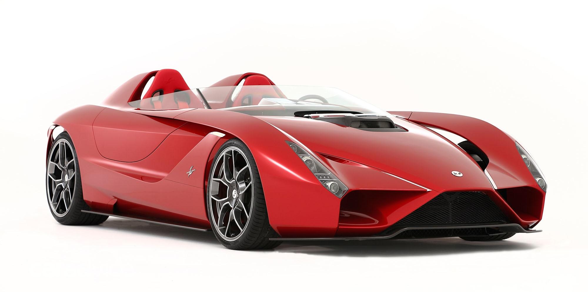 Kode57: Ferrari-based speedster unveiled in California   CarAdvice